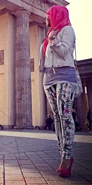 Styling Tipp Fashion und Beauty 2013 - Pink, Print und gemustert durch die Hauptstadt (+english version)