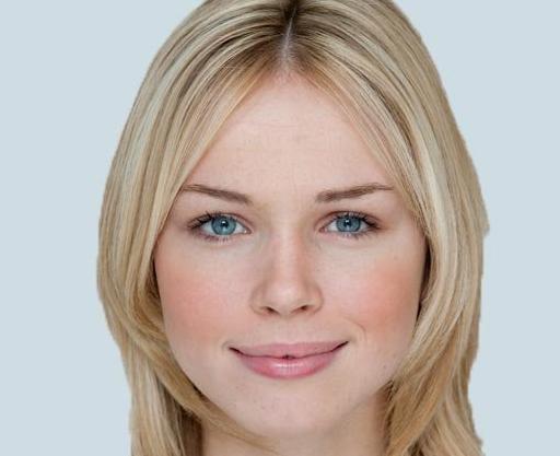 Der perfekte Mensch – die Britin Florence Colgate hat das perfekte Gesicht.