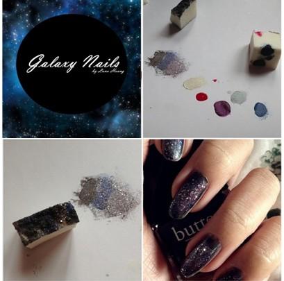 Stiili- ja ilunipp Tehke seda ise Galaxy Nails
