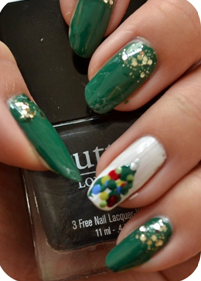 Manicure Monday | NAIL TUTORIAL #Christmas Edition