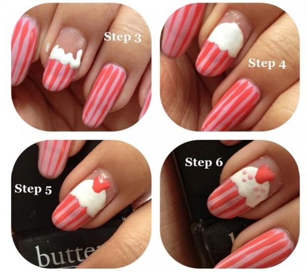 Manicure Monday | NAIL TUTORIAL #Cupcake