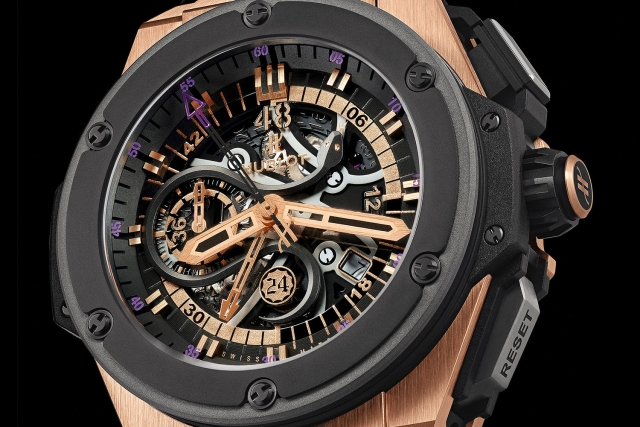 die sch nsten herren luxusuhren 2013 kobe bryant x hublot king power black mamba read the. Black Bedroom Furniture Sets. Home Design Ideas