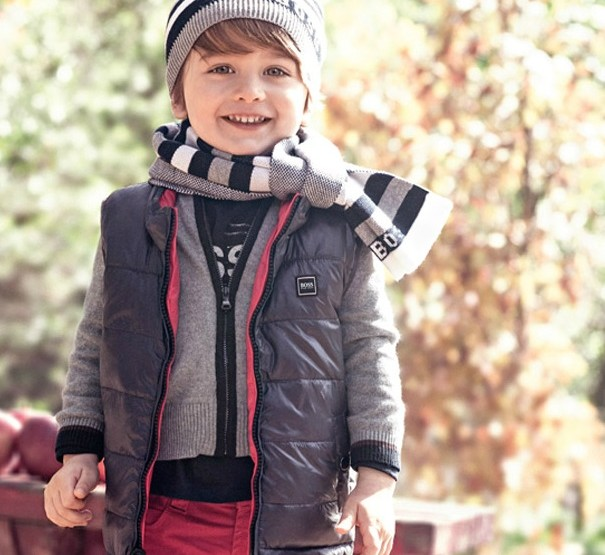 Hugo Boss, for kids – Fashion News Fall/Winter Collection 2013