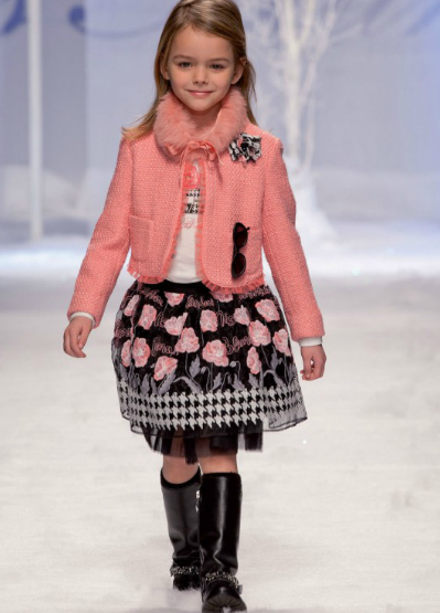 "Blumarine, for kids – Fashion News ""Miss Blumarine"" Fall/Winter 2013/14"