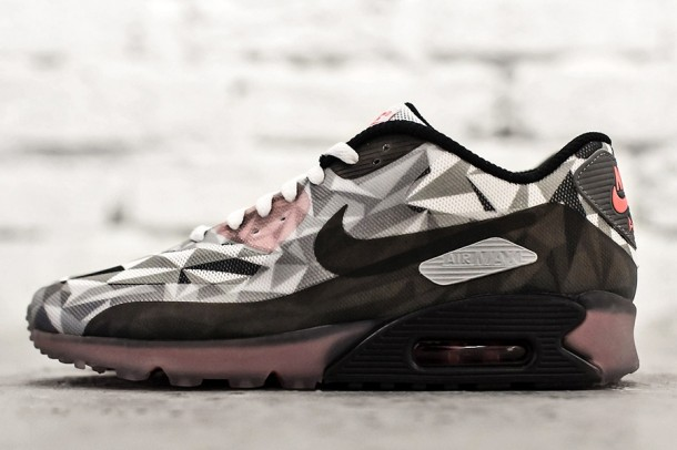Die besten Sneaker RELEASES 2014 - Nike Air Max 90 ICE – White – Cool Grey – Black – Infrared