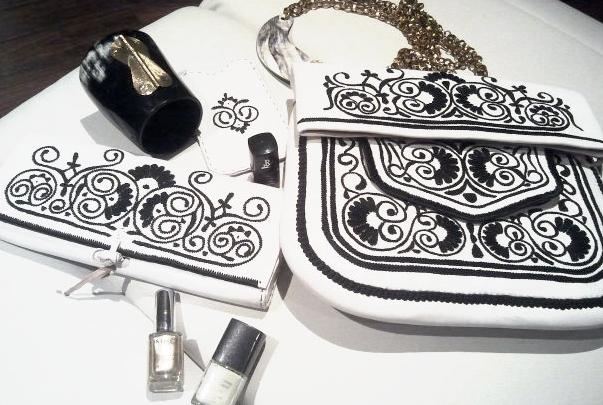 Styling Tipp Fashion und Beauty 2014 | Abury Berber Bags Black & White