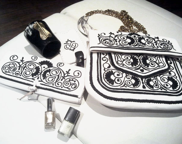 Styling Tipp Fashion und Beauty 2014 | Abury Berber Bags Black & White