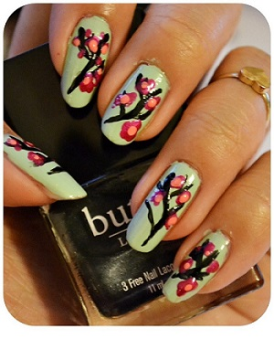 Manicure Monday | NAIL TUTORIAL #Arizona Blossoms
