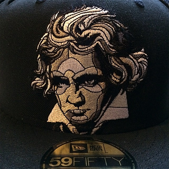 Die coolsten Basecaps 2014 - BEETHOVEN NEW ERA 59FIFTY BY DAVID FLORES ART