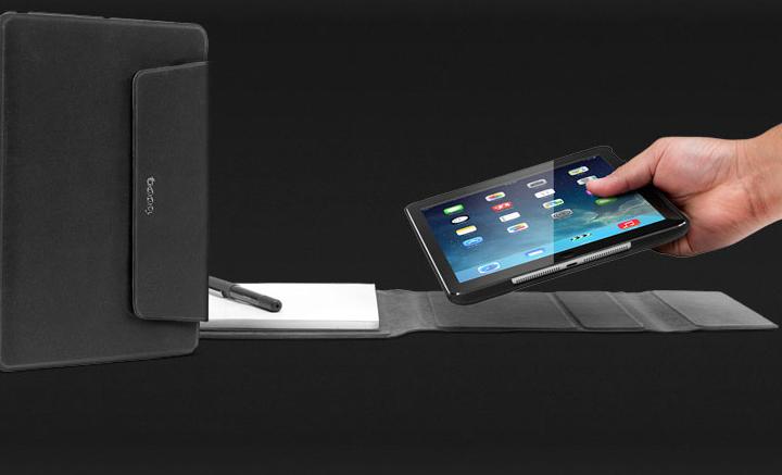 Viele Positionen, eine Schutzhülle - Das neue Booqpad für das iPad Air