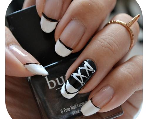 Manicura luni | NAIL TUTORIAL #Chucks Converse Nails