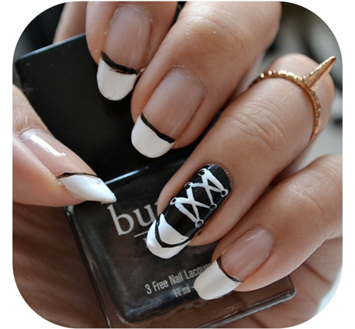 Manicure Monday | NAIL TUTORIAL #Chucks Converse Nails
