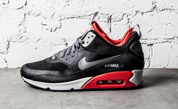 Die coolsten Sneaker RELEASES 2014 - Nike Air Max 90 Sneakerboot Lite Crimson