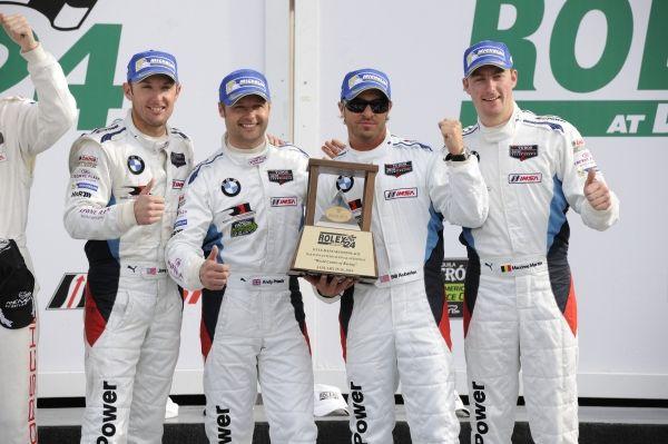 BMW Team RLL fährt beim 24-Stunden-Rennen von Daytona auf die Plätze zwei und vier