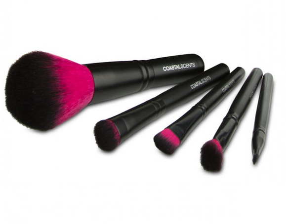 "Beauty Tip | Coastal Scents ""Color Me Fuchsia Brush Set"""