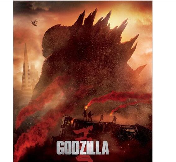 Die besten Kinostarts 2014 - Godzilla 2014