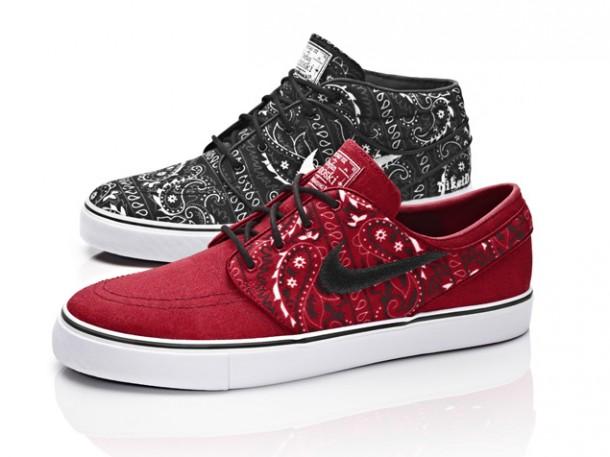 "Die schönsten Skater Sneaker RELEASES 2014 - Nike SB Zoom Stefan Janoski ID ""Paisley"