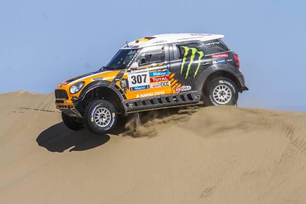 Doppelsieg für MINI auf der 11. Etappe der Rallye Dakar 2014