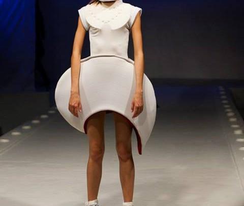 Olga Plenkina, for Ihn & Sie - Space Fashion auf der Fashion Week Russia