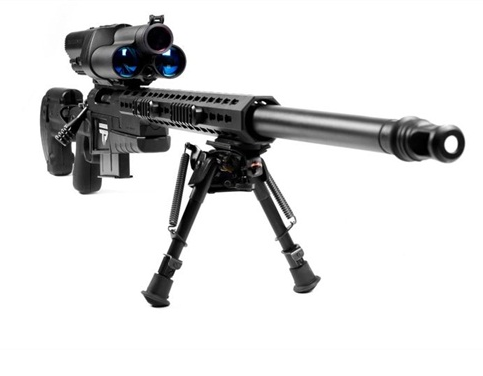 """Die Waffen der Zukunft - Gewehr Modell XS """"Smart Rifle"""