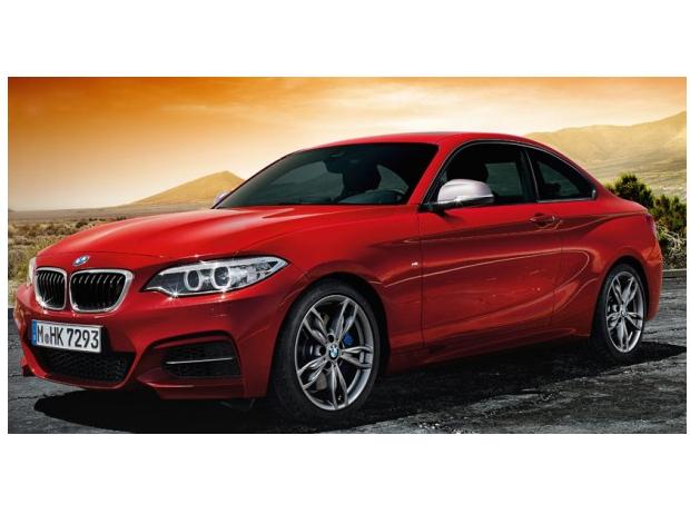 BMW 2er Coupé - Fahrfreude verdichtet