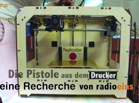 Waffen aus dem 3D Drucker - Waffen für alle
