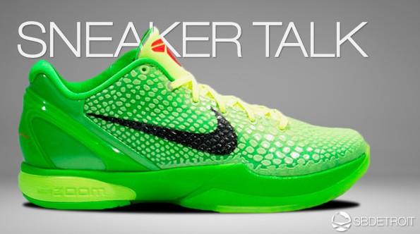 "Die fettesten Sneaker der Welt - Nike Zoom Kobe 6 ""Grinch"