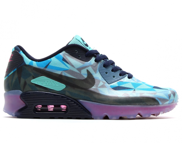 "Die geilsten Air Max Sneaker 2014 - Nike Air Max 90 Ice ""Barely Blue"
