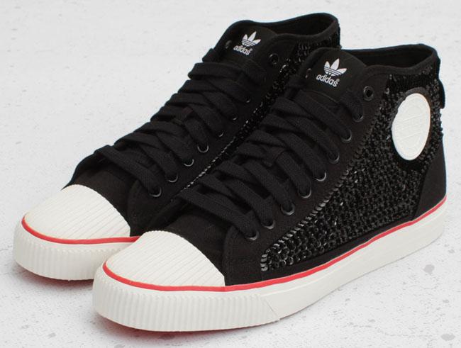 Die coolsten Sneaker der Welt - Adidas ObyO Nizza Hi x Jeremy Scott