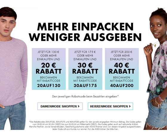 Fashion on a Budget | ASOS schenkt dir 40€!
