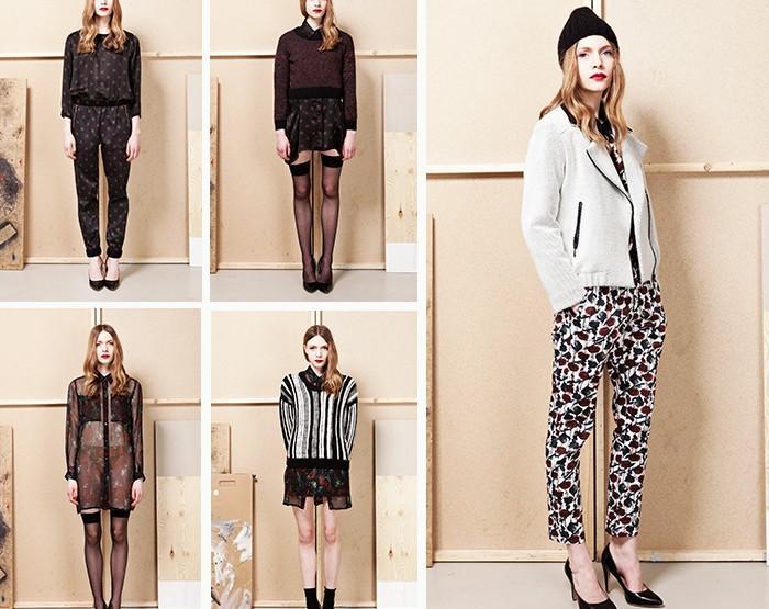 """Caro Cora Berlin, für Sie - Fashion News 2014 Herbst- und Winterkollektion """"Midnight Garden"""""""