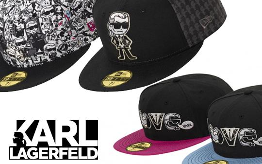 Die schönsten Base Caps 2014 - Karl Lagerfeld X Tokidoki New Era Kollektion
