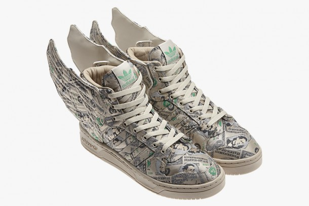 "Die fettesten Kicks der Welt - Jeremy Scott x Adidas Originals JS Wings 2.0 ""Money Wings"