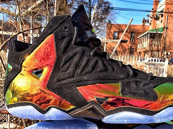 """Die heißesten Sneaker 2014 RELEASES - Nike LeBron 11 """"Kings Crown"""