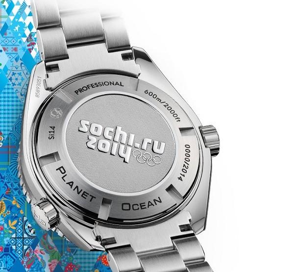 "OMEGA Seamaster Planet Ocean 45.5 mm ""Sochi 2014"" Limited Edition"