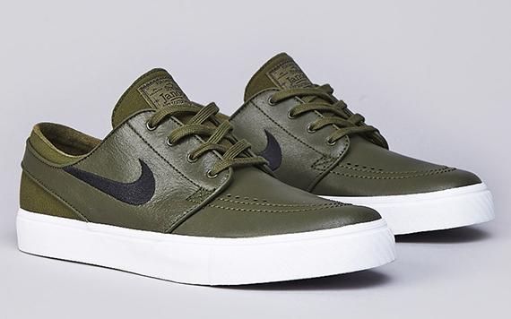 "I più belli sneakers casuale - Nike SB Janoski ""Legion Green"
