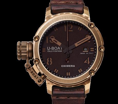 I più belli orologi di lussu per l'omi - U-Boat Chimera Bronze 43 Limited Edition 300 Units