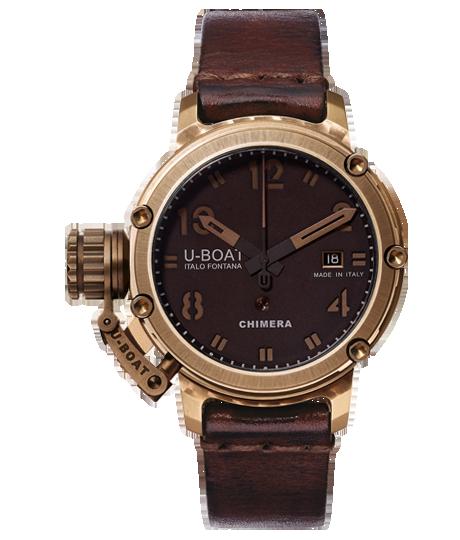 Die schönsten Luxusuhren für den Herren - U-Boat Chimera Bronze 43 Limited Edition 300 Units