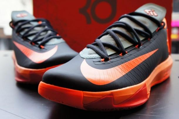 U colpu di pallacanestro svaggestenu RILASCIA - Nike KD 6 Anthracite / Total Orange
