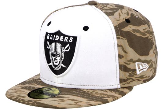 I più belli cappelli di baseball - Oakland Raiders Tiger Camo 59Fifty