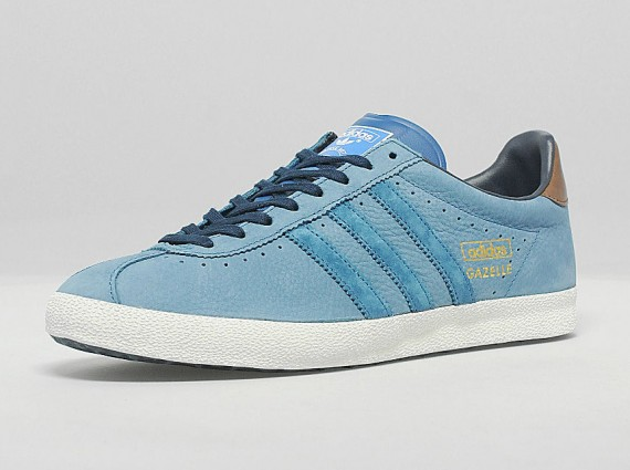 "Die schönsten Sneaker 2014:  Adidas Originals Gazelle Leather OG ""Legend Ink"""