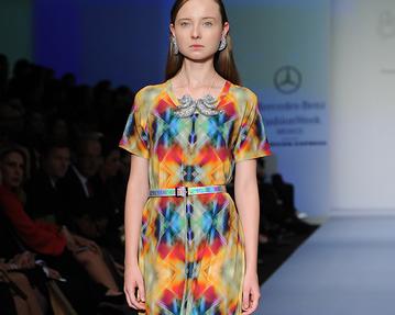 MBFW México April 2014 präsentiert - Alejandra Quesada, für Sie - FS14