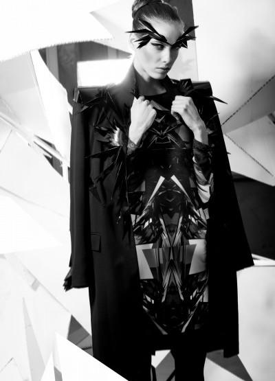 """Riga Fashion Week April 2014 präsentiert - Janis Sne, für Sie & Ihn  - """"Arctic"""