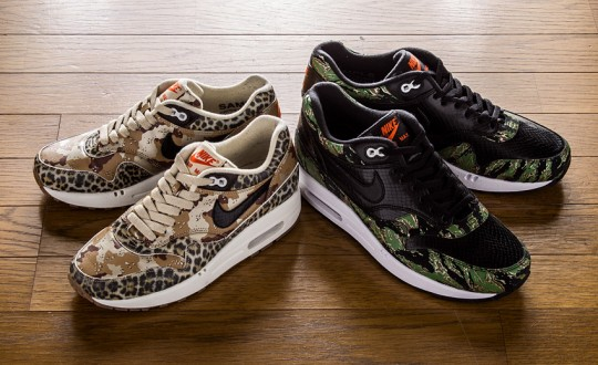 Die schönsten Sneaker 2014: atmos x Nike Air Max 1 PRM Camo Animal Pack