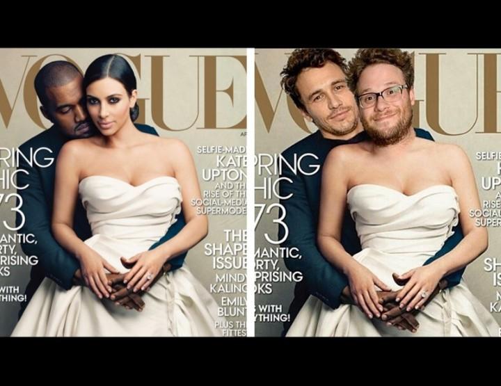Kim Kardashian und Kanye West mal wieder geroastet by James Franko