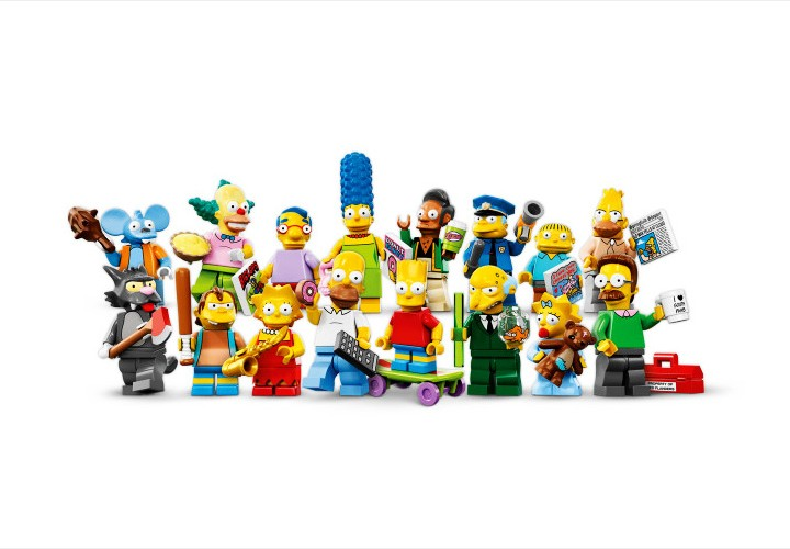 Lego-Simpsons: Neue Charaktere