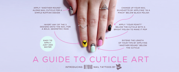 "Manicure Monday | Der neueste Trend: ""Cuticle Tattoos"