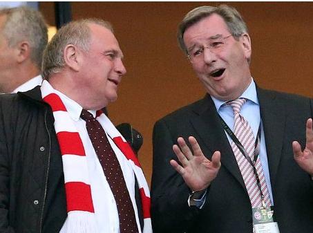 Neuer Vorstand des FC-Bayern München