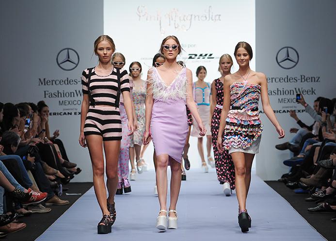 MBFW México April 2014 präsentiert - Pink Magnolia, für Sie - FS14