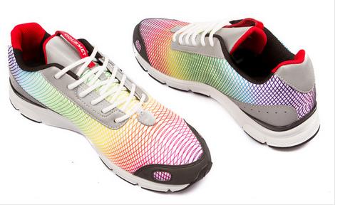 """Die schönsten Sneaker 2014 – Gourmet Footwear """"Libero White Rainbow"""""""